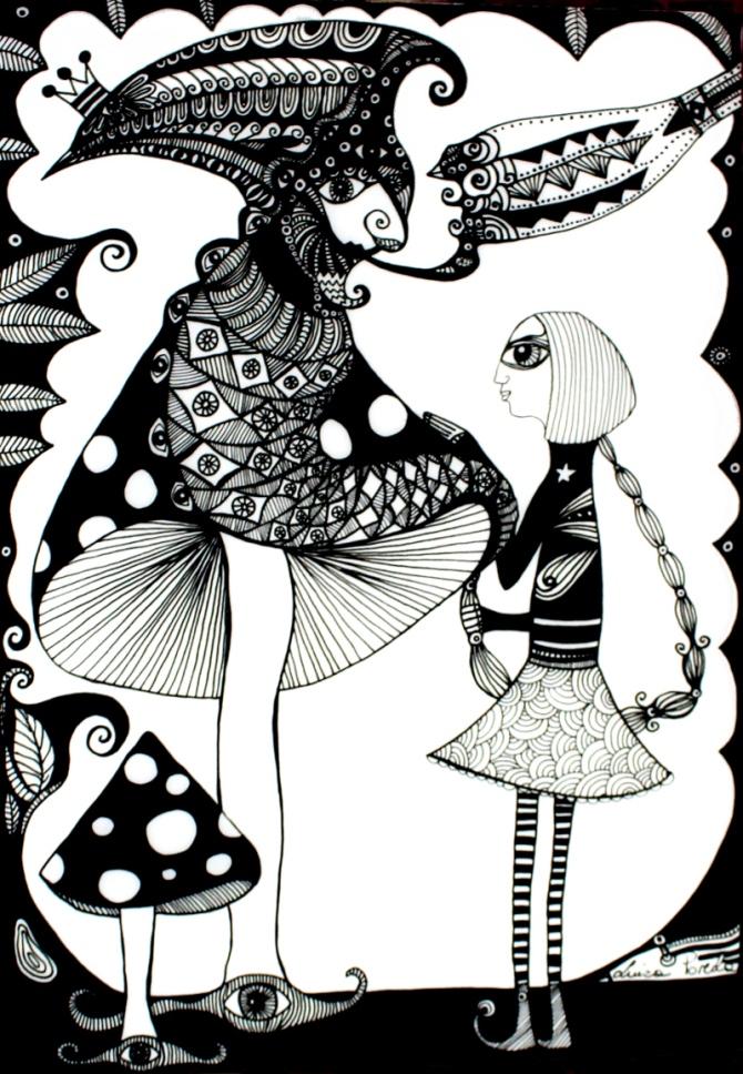 Alice in Wonderland (sold)